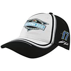 NASCAR Chase Authentics Matt Kenseth 2012 Daytona 500 Champion Adjustable Hat - Black... by Football Fanatics