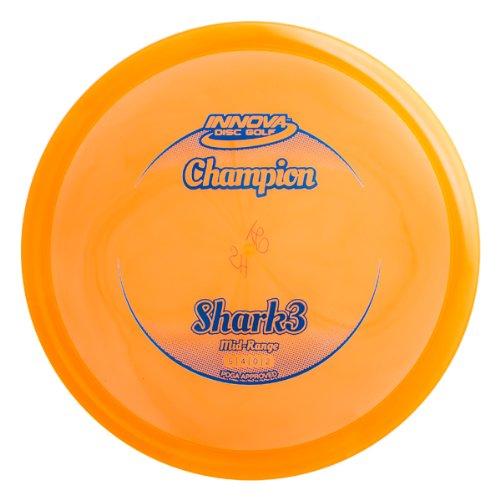 Innova Disc Golf Champion Material Shark 3 Golf Disc, 175-177Gm (Colors May Vary)