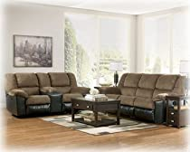 Hot Sale Reclining Sofa and Love Seat by Ashley Furniture