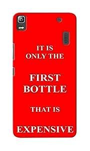 CimaCase First Bottle Expensive Designer 3D Printed Case Cover For Lenovo K3 Note