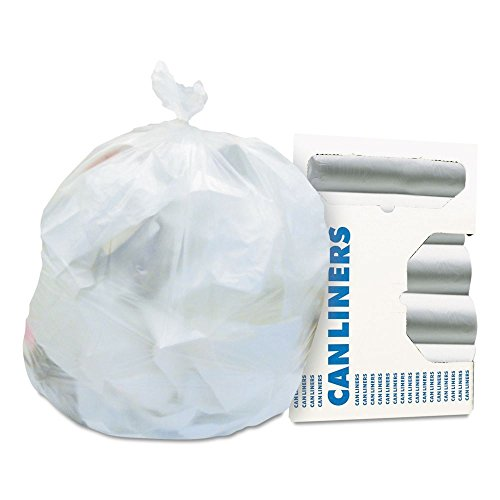 Heritage HDPE 16 Gallon Trash Bags - HERZ4833RNR01 // Natural Garbage Bag - High-Density - 6 micron (Boil Popper compare prices)