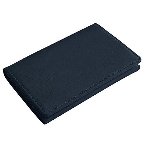 (スリップオン) SLIP-ON SONSL2403 ノワール Noir 名刺入れ カードケース [牛革] (ネイビー)