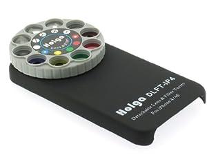 Holga iPhone Lens Filter Kit SLFT-IP4 for iPhone 4/4S BLACK
