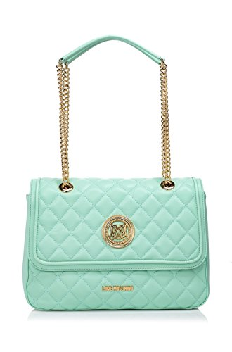 Love Moschino Quilted Shoulder Bag Mint thumbnail