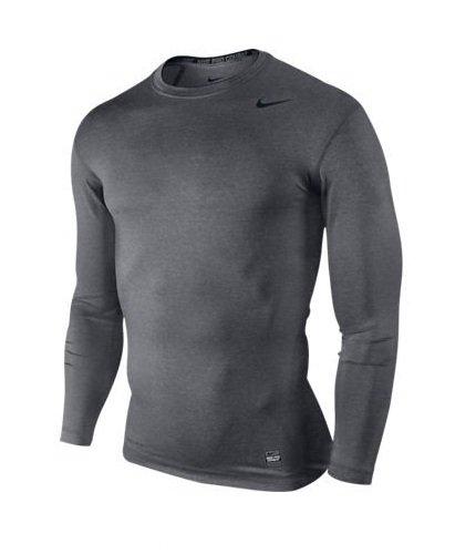 Nike Pro Core Long Sleeve Tight hauts ras du cou, Pointure L EU