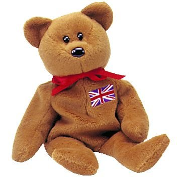 Ty Beanie Baby - Britannia The Bear (Uk Exclusive) front-1028849
