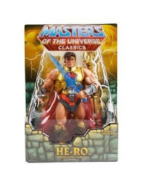 Buy Low Price Mattel Masters of The Universe Classics 2009 SDCC San Diego Comic-Con Exclusive Action Figure He-Ro (Random Color Spell Stone) (B002JB8YE2)