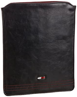 Hilfiger Denim RYLAN TABLET SLEEVE EK56920938, Herren Geldbörsen, Blau (PEACOAT-PT / BERRY RED 409), 21x26x1 cm (B x H x T)