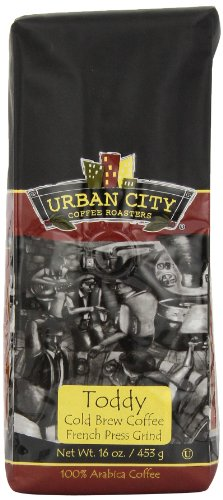Urban City Coffee Toddy Blend, 16-Ounce Bags (Pack Of 2)