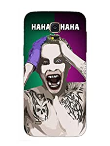 Crazy Joker - For Suicide Squad Fans - Hard Back Case Cover for Samsung S5 Mini - Superior Matte Finish - HD Printed Cases and Covers