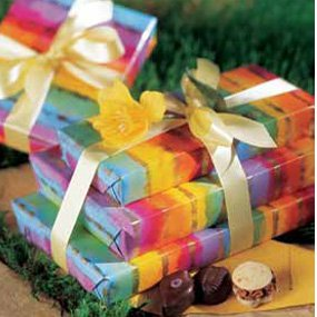 Spring Has Sprung! Gift Tower of Premium Belgium Chocolates - A Great Easter Gift
