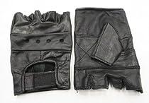 New Large Leather Weight Lifting Exercise Training Gloves