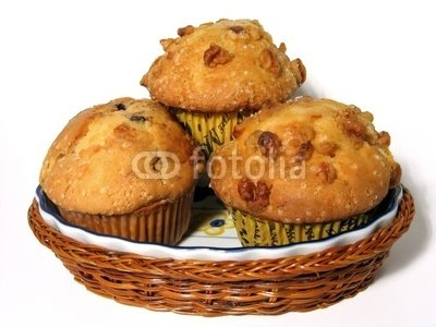 """Wallmonkeys Peel and Stick Wall Decals - Muffins - 24""""W x 18""""H Removable Graphic"""