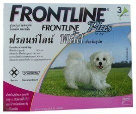 цена на 2x New Frontline Plus for Dog Kills Fleas , Flea Eggs & Ticks for Dogs, Puppies, 8 Weeks of Age Weighing Less Than 5 Kg.0-5 Kg (0-11 Lbs) 1 Box= 3 Applicators
