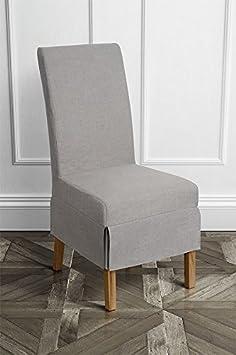 MY-Furniture Conjunto de 2 sillas de comedor CARMEN - Dove.
