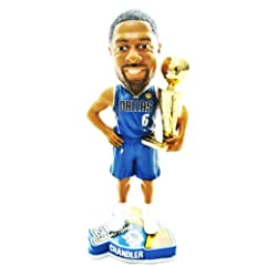 DALLAS MAVERICKS #6 TYSON CHANDLER NBA OFFICIAL 2011 CHAMPIONSHIP TROPHY BOBBLEHEAD... by FOREVER