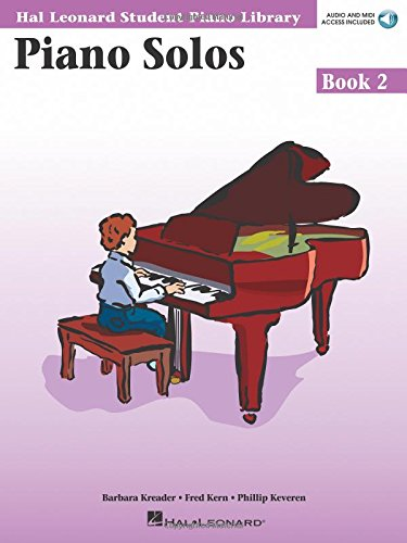 Piano Solos Book 2 - Book/CD Pack: Hal Leonard Student Piano Library (Hal Leonard Student Piano Library (Songbooks))