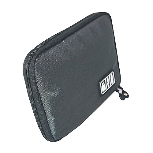 Baiyu Waterproof Electronic Accessories Organiser Portable Travel Storage Bag Multifunctional Digital Pouch Holder Organizer Case Size 22.6*15.7*3.6cm–Dark Gray
