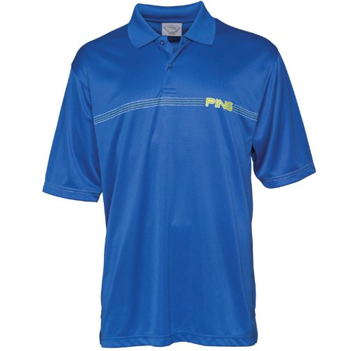 Ping Collection Mens Zap Polo Electric Blue