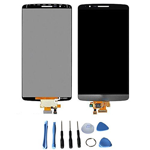 Lcd Display Touch Screen Digitizer Assembly For Lg Optimus G3 D830 D855 D851 Vs985 D850 With Free Tools (Black +Grey)