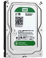 WD Green Disque dur interne (Bulk) Desktop Mainstream 2 To 3,5 pouces SATA intellipower