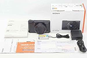 SONY デジタルカメラ Cyber-shot WX500 光学30倍 ブラック DSC-WX500-B