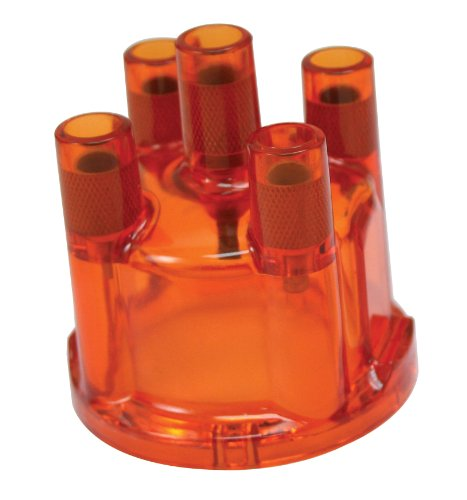 EMPI 8791 DISTRIBUTOR CAP FOR 009, RED, VW BUG, BUGGY, BUS, GHIA, SAND RAIL, BAJA, TYPE 3 (009 Distributor Rotor compare prices)
