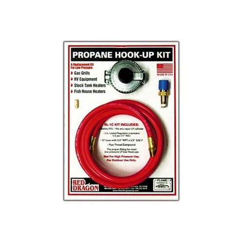 red dragon sl-1c low pressure propane hook up kit