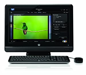 HP All-in-One 200-5020 Desktop PC – Black