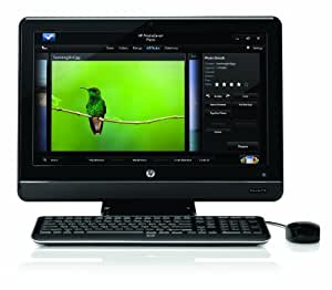 HP All-in-One 200-5020 Desktop PC – Black