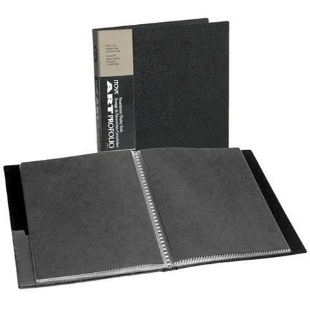 Itoya Art Profolio Storage/Display Book 8 1/2 in x 11 in.- 90 pages