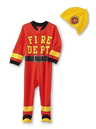 Small Wonders Baby Boys' Red 2 Piece Bodysuit Set