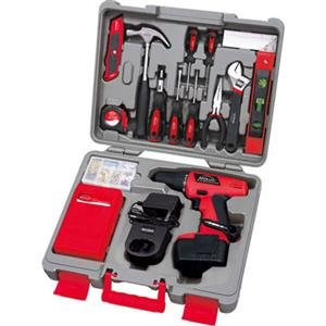 The Excellent Quality 155 Pc Kit w 12V Drill