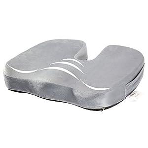 RAINLAX 座布団 低反発 坐骨神経痛対策クッション 骨盤サポート U型