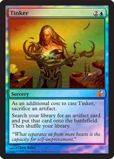 Magic: The Gathering - Tinker - From The Vault: Exiled - Foil front-386033