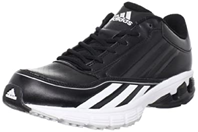 Buy adidas Mens Falcon Leather Baseball Cleat by adidas