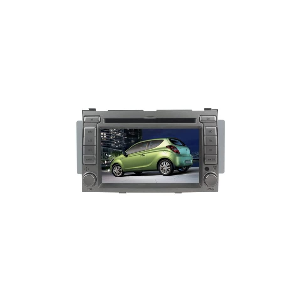 For Hyundai i20 (Year 2008 2009 2010 2011 2012) 6.2 Digital Touch Screen Car DVD Player Navigation System Radio PIP Bluetooth iPod Free Map DVD CD8930