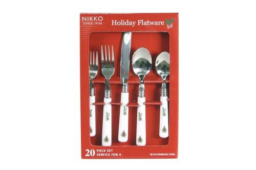 Nikko Christmas Flatware 20 Piece Set, Service for Four | Order ...