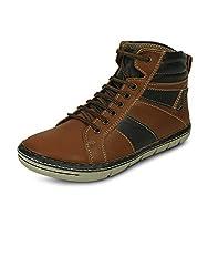 Get Glamr Mens Tan Boots (Get (GET-434) - 10 UK
