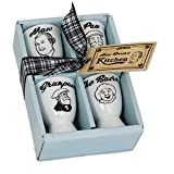 The Broons Family Set of 4 Porcelain Egg Cups