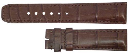 Baume Et Mercier 22Mm Brown Alligator Pattern Strap Mx002Tlm