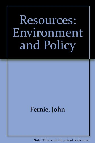 Resources: Environment and Policy PDF