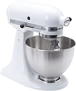 kitchenaid k45sswh k45ss classic 275 watt 4 1 2 quart