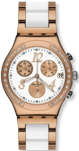 Swatch Irony Dreamwhite Rose Chronograph Rose