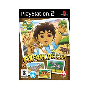 Go Diego Go: Safari Rescue - PS2