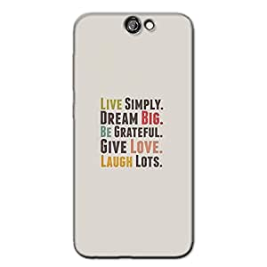 LIVE SIMPLY BACK COVER FOR HTC A9