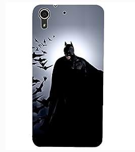 ColourCraft Superhero Design Back Case Cover for HTC DESIRE 626S