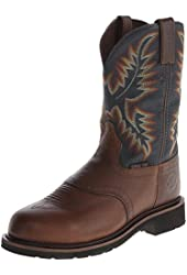 Jow Men's Justin Stampede Work Boot Steel Toe