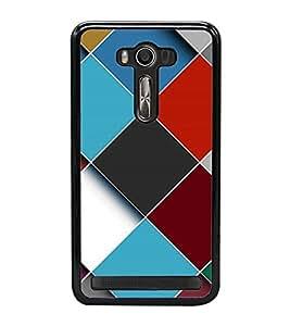 Fuson Premium 2D Back Case Cover Colourful pattern With Multi Background Degined For Asus Zenfone Selfie::Asus Zenfone Selfie ZD551KL