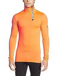 Superdry Men's Synthetic Sweater (5054265580826_M60001PM_S_Fluro Orange)